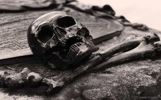 skull, bones, cross, font, stock,