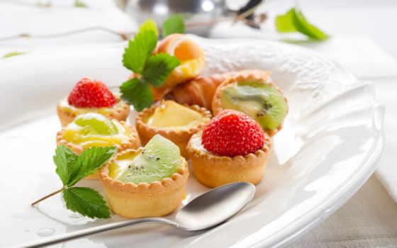 фруктовые, торт, кексы, еда, пироги, тортов,