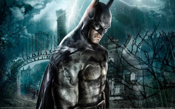 игры, batman, arkham, asylum, game,