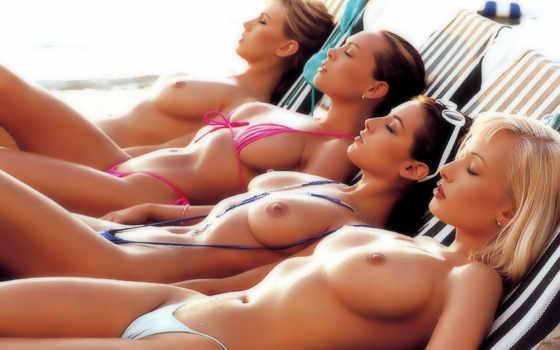 , девушки, купальник, грудь, титьки,