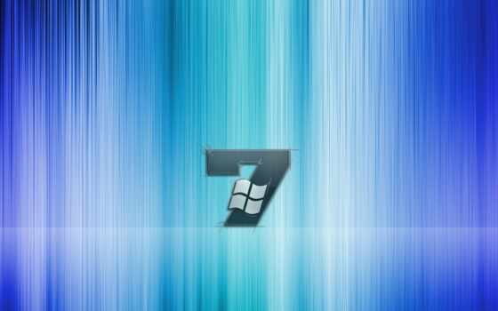 windows se7en blue and white