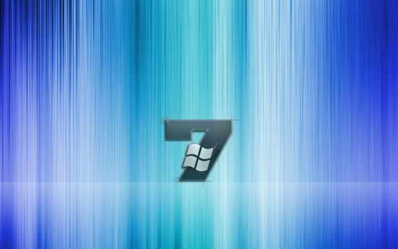 windows, se7en, logo, blue, white