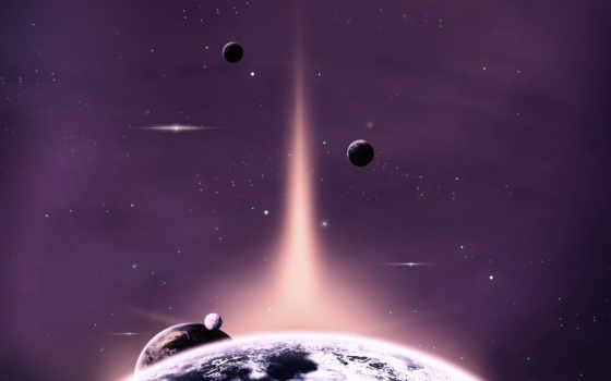 космос, сияние, нояб