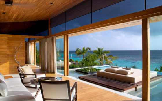 комната с видом на море