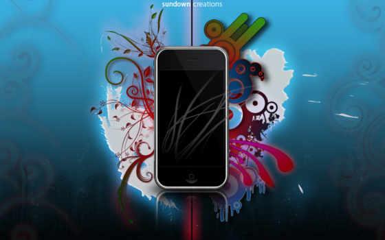 красивые, iphone, заставки