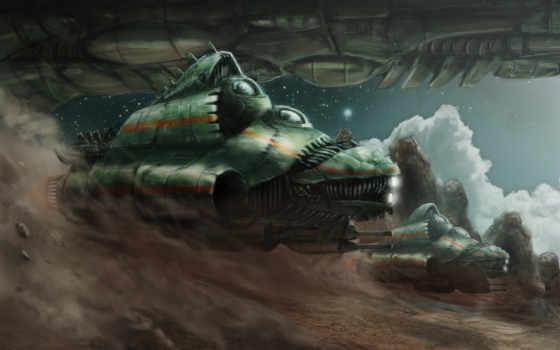 fantasy, spaceship, spaceships, fastlane, jonathan, девушка, art,