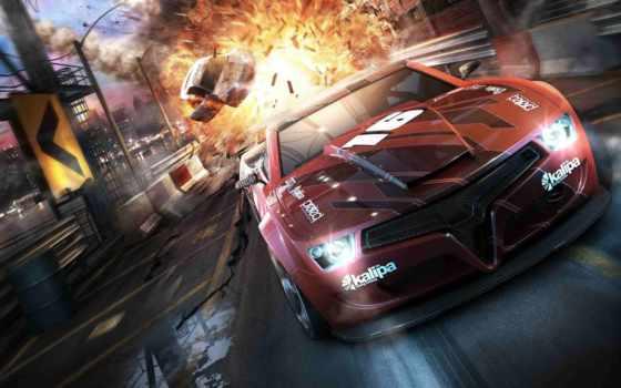 машины, bang, игры, понравилось, машина, красная, драйв, авто, second,