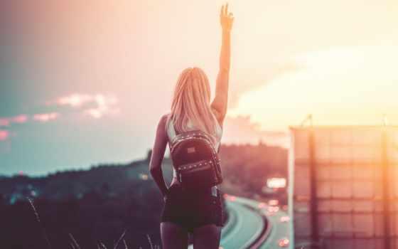 женщина, freedom, молодой, enjoy, even, summer, одиночка, blonde, девушка, лицо