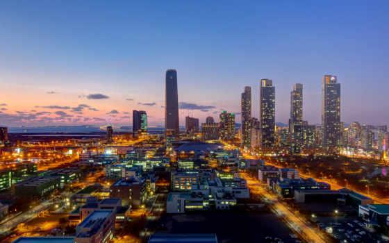 город, ночь, сеул, desktop, korea, south,