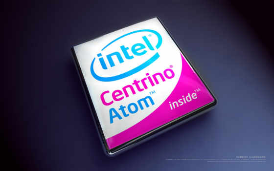 intel centrino atom inside лого объёмное