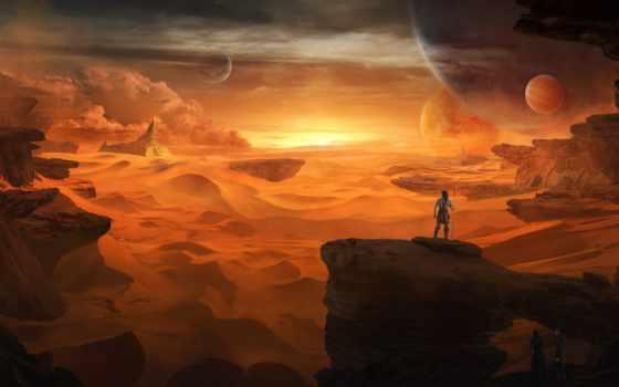 world, other, люди, туман, rocks, planets, ноутбук,