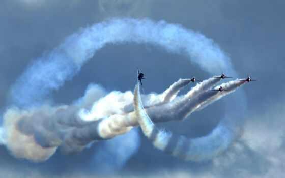 dimension, авиашоу, airplane, тварь, air, небо, дым