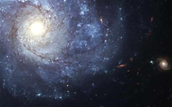 галактика, спиральная, анфас, хаббл, телескоп, ngc, космос, картинку, картинка,