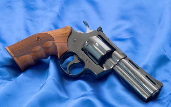 револьвер, оружие