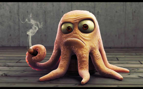 octopus, funny,