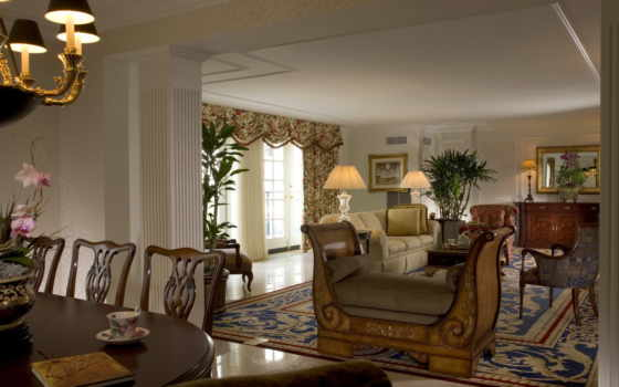 диван, комната, подушки