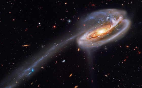 galaxy, свет, звезды