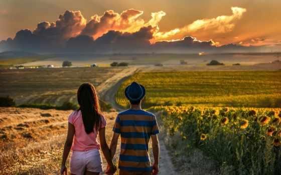 pair, дорога, влюбленные, путь, distance, love, дороги, тучи, вода, ночь, даль, небо,,