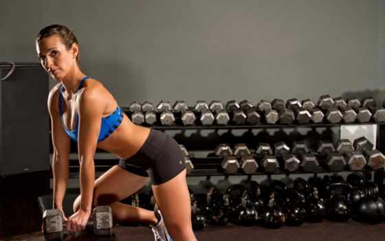 weights, девушка, фитнес