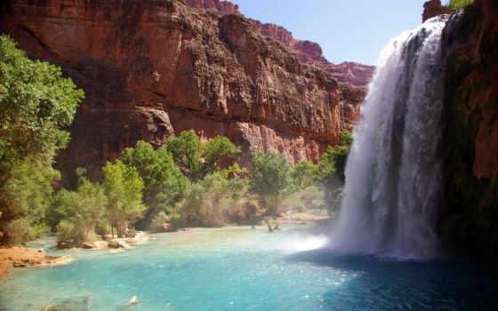 falls, водопад