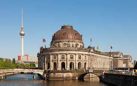 berlin, museum, museumsinsel, die, fhd, bode, der, island, gb, fernsehturm, window, und,