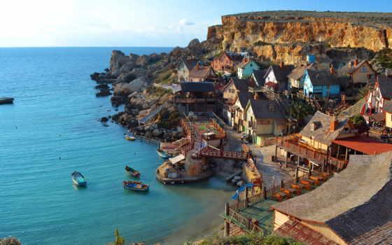 coastal, деревня, мальта