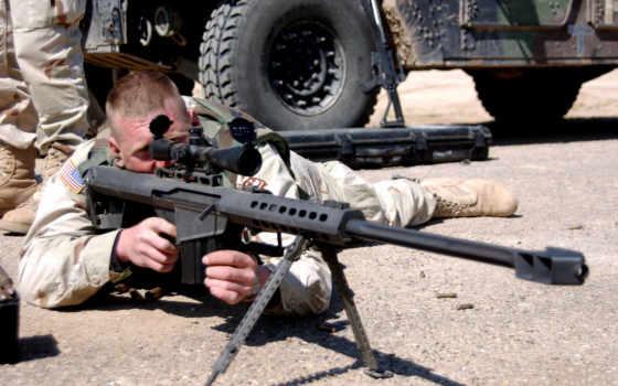 barrett, винтовка, крупнокалиберна