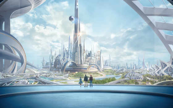 land, будущего, город
