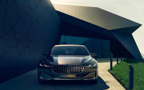 bmw, luxury, vision, будущее, concept, седана, роскоши, роскошного,