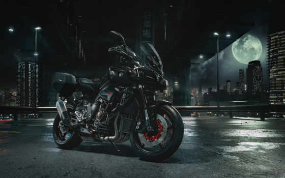 yamaha, mt, мотоциклы, black, touring, package,
