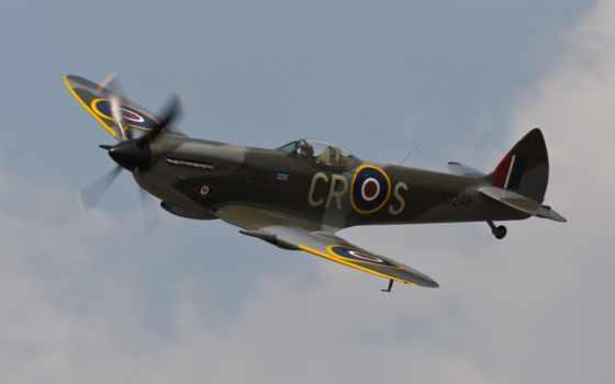 spitfire, supermarine, wp, истребитель, live,