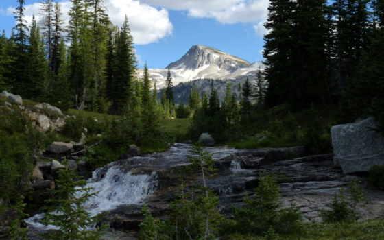 река, oregon, природа, гора, nf, images, весна,