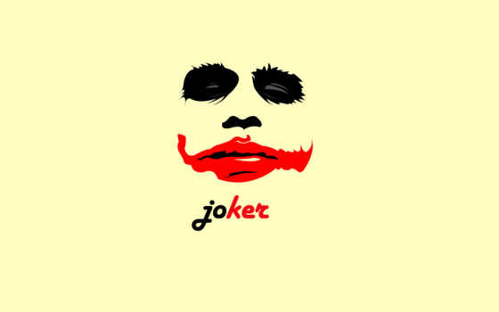 joker, черный, красный,