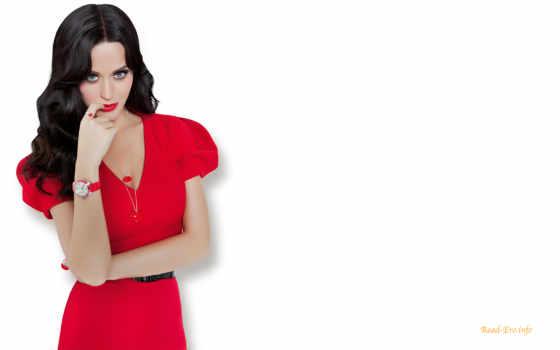 katie, perry, singer, katy, красное платье,