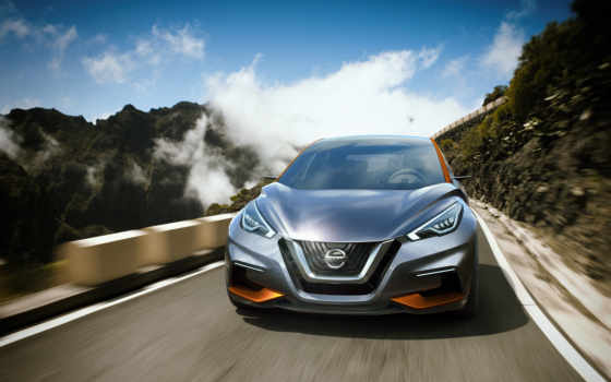 nissan, sway, concept, мар, hatchback,