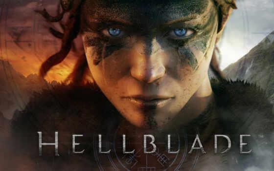 game, hellblade, плакат