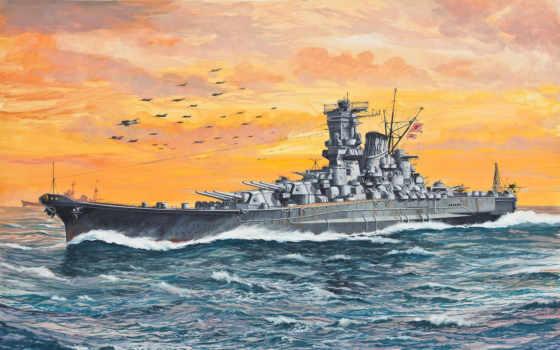 корабль, флот