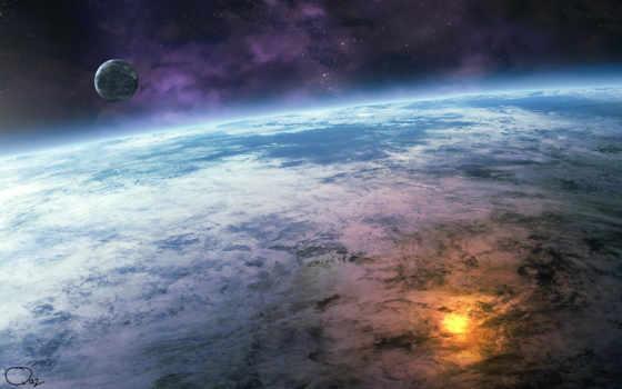 космос, планета Фон № 24274 разрешение 1920x1200