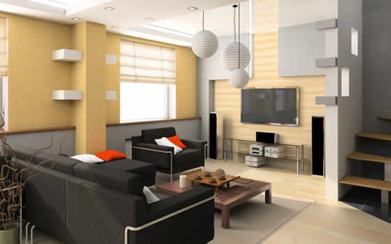 interer, dizain, интерьера, спальни, квартиры, спален,