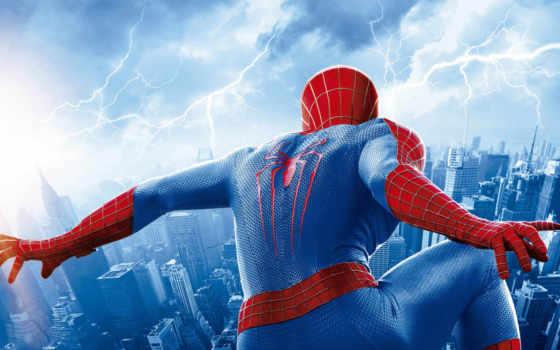 мужчина, паук, amazing