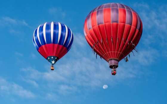 desktop, aerial, balloon, free, мяч, aerostat, photos, картинка,