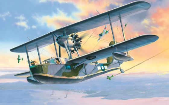 supermarine, walrus, самолёт