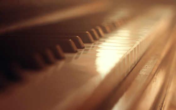 клавиши, piano, музыка