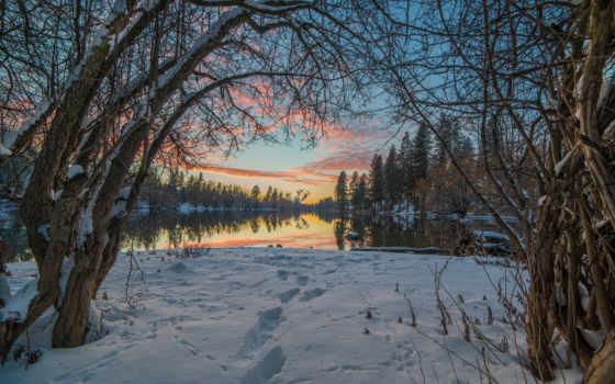 природа, winter, landscape
