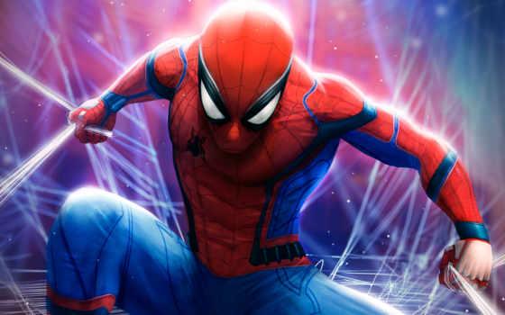 паук, мужчина, spiderman