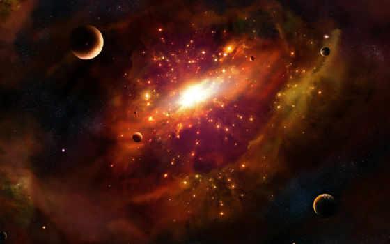 космос, галактика, планеты