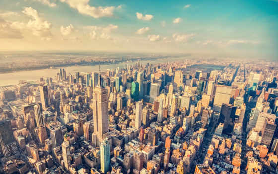нью, york, йорка, город, usa, new,