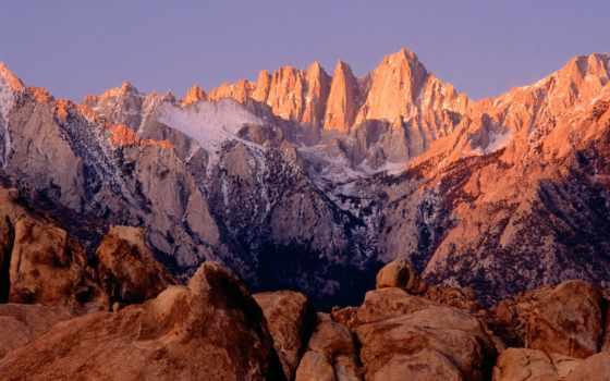 горы, небо, highly, oblaka, мар, красивые, голубое,
