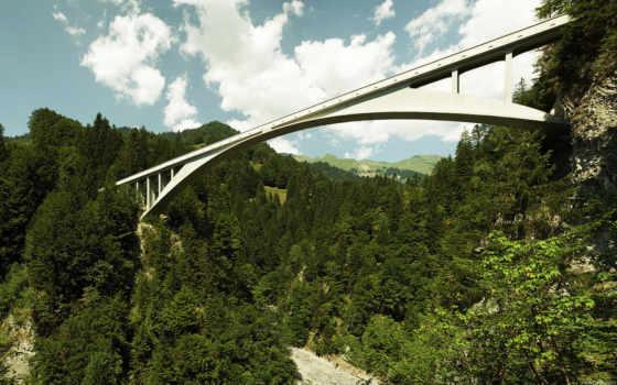 maillart, роберт, мост, salginatobel, concrete, und, die, reinforced,