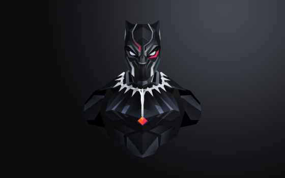 black, panther, mobile